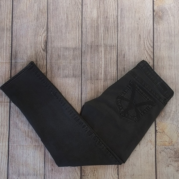 Kut from the Kloth Denim - Kut From The Kloth Black Stevie Straight Leg Sz 12